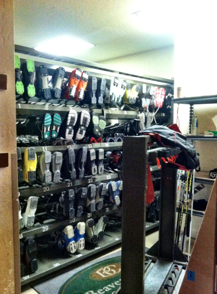 The Ski-Boot Warming Room