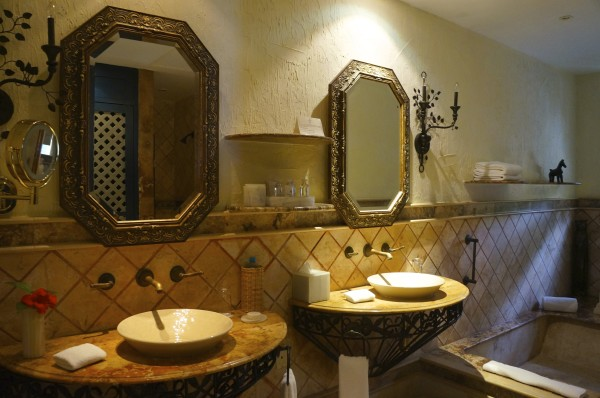 I LOVED the bathrooms at Zoetry Paraiso de la Bonita