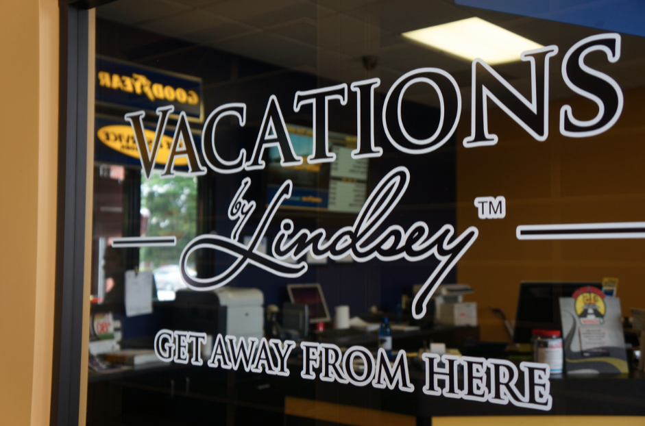 Here We Grow Columbus Atlantas Luxury Travel Agency Epperly - Window decals for business atlanta