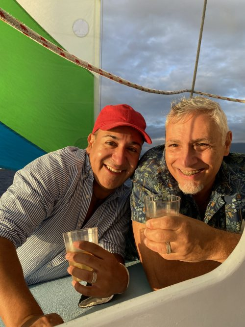 Steve Torres joins Epperly Travel. The Traveling Toros, Steve and Mark, pictured traveling in Hawaii